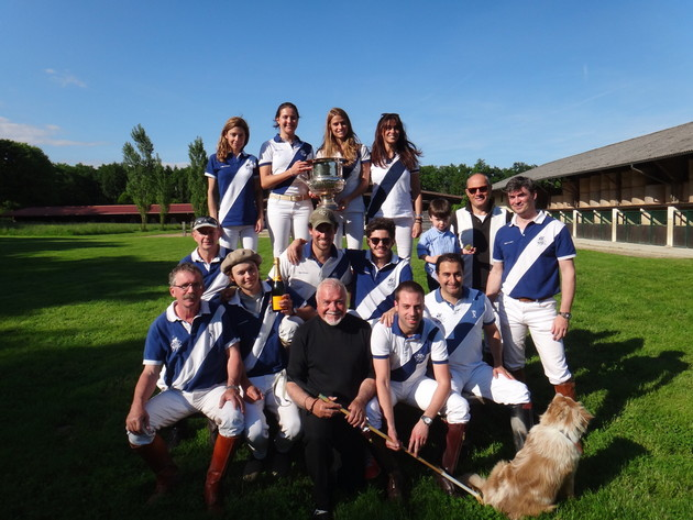 The players of the Domaine de Veytay Cup 2015