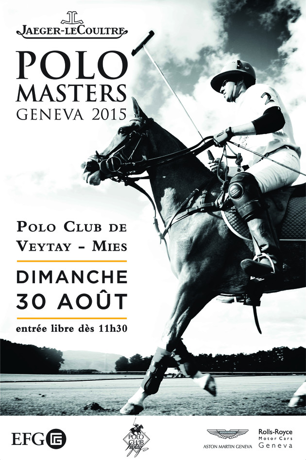 Affiche Jaeger-LeCoultre Polo Masters